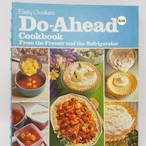 Betty Crocker Vintage 1972 Cookbook
